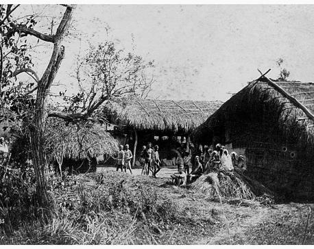 Thori village in Chitwan