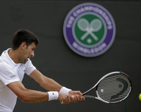 Querrey tops Murray at Wimbledon; Djokovic out; Federer wins