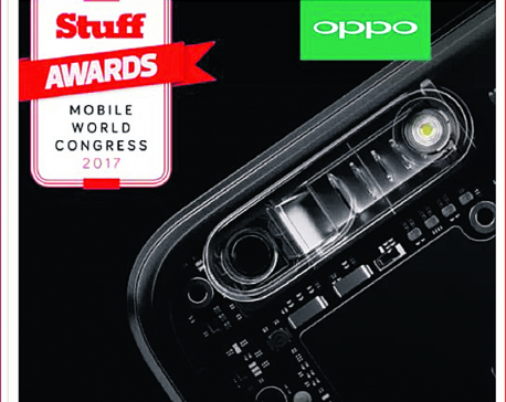 Oppo smartphone receives various awards