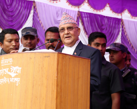 Tearing up ballot papers with votes pre-planned: UML Chairman Oli
