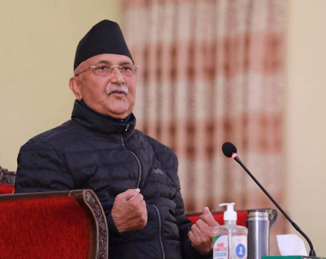 Ruling NCP informs Election Commission on party's decision taken against Chairperson Oli