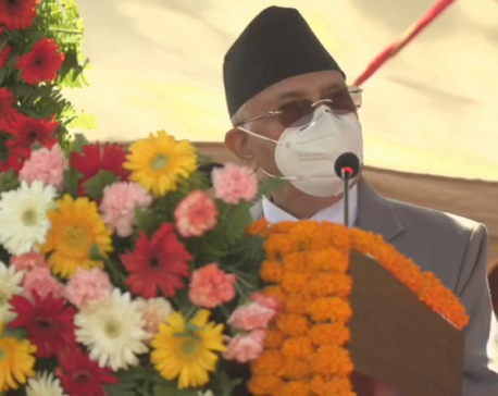 PM Oli dismisses corruption charges leveled against him by former PM Bhattarai