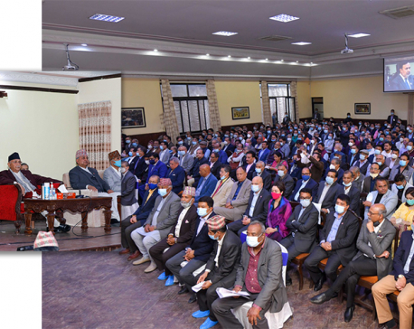 PM Oli holds interaction with industrialists, entrepreneurs