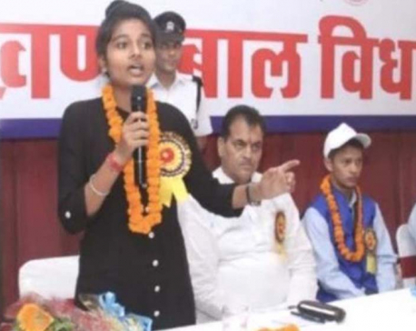 A teenager girl picked as chief minister of Indian state of Uttarakhand for one day