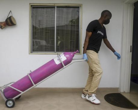 Medical oxygen scarce in Africa, Latin America amid virus