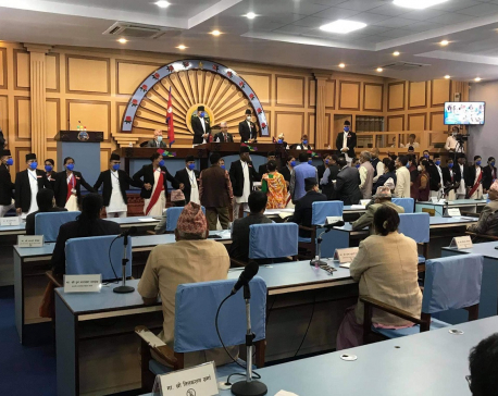 Province 5 Assembly meeting adjourned following obstruction of opposition party