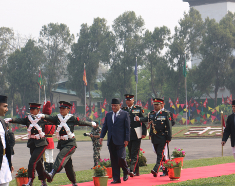 PM Dahal describes Nepalese Army as best, professional and noble