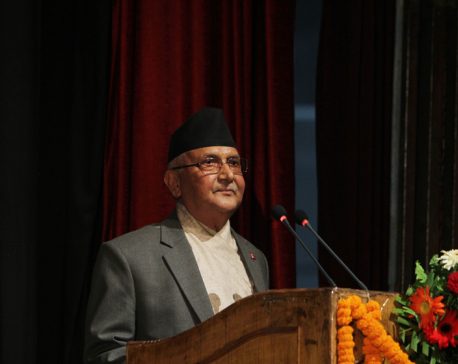 Construction of trans-Himalayan railway govt's top priority: PM Oli