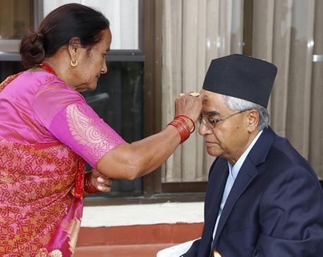 PM receives Bhaitika