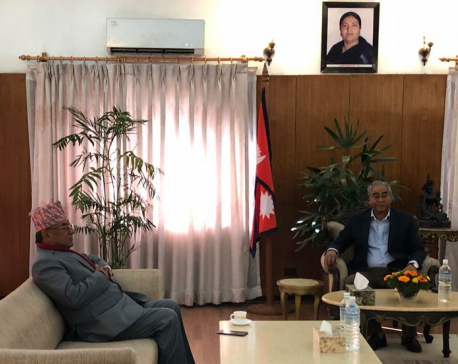 Nat'l Assembly Election Ordinance endorsement delay a concern: Deuba to Dahal
