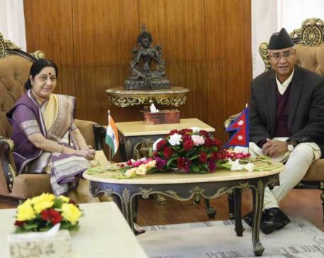 PM Deuba-Swaraj lunch meet