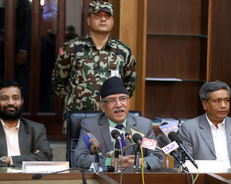 Constitution amendment proposal before Nov 15: PM Dahal