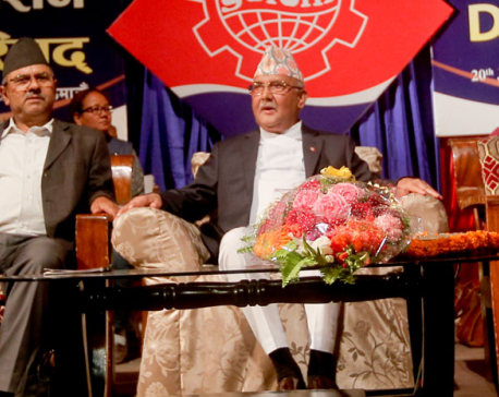 No-trust proposal is envy proposal, says PM Oli