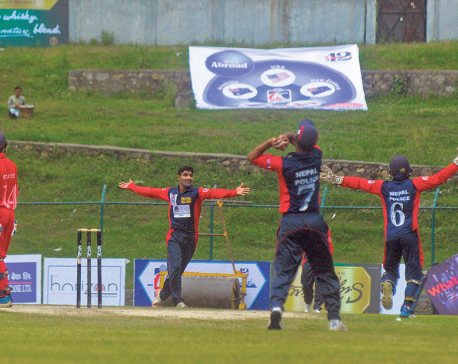 Dhamala, Aarif lead Nepal Police to win; Skipper Puspa stars for Province 1