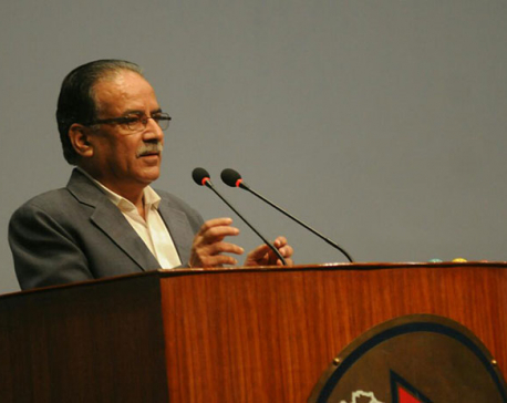 PM Dahal expresses commitment to perform well