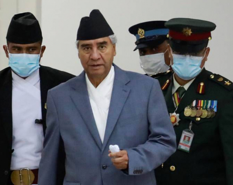 Deuba urges NC members to participate in paty's convention by adopting health safety protocols