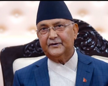 PM Oli vows to expand scope of COVID-19 testing in two percent of country's total population (with video)