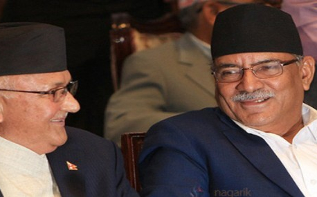 Oli, Dahal continue negotiation as PM prepares for cabinet reshuffle