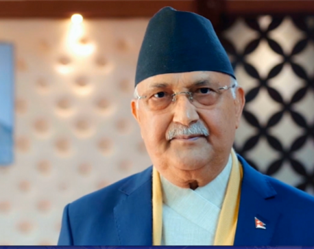 PM Oli visiting EC to inquire about the preparations being made to hold mid-term elections