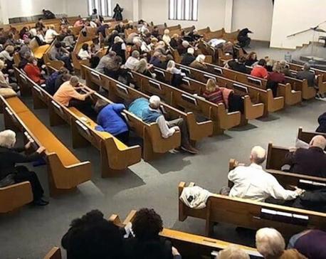 Police: Parishioners kill man who fatally shoots 2 at church