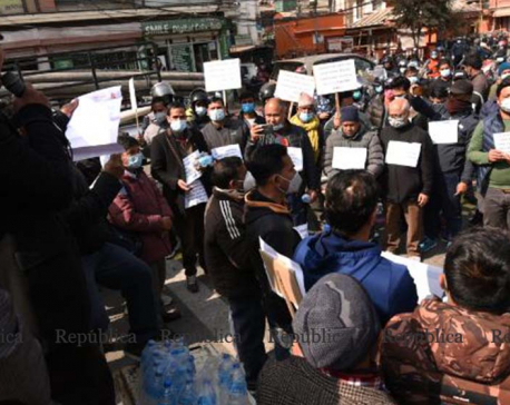 PHOTOS: Entrepreneurs stage protests, urge govt to honor tax exemption promise made during lockdown