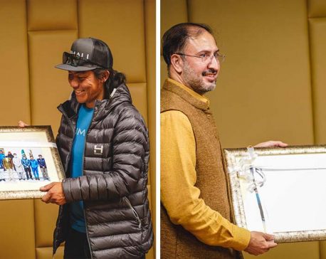 Pakistan Embassy in Nepal hosts reception to honor first winter K2 Ascent Team