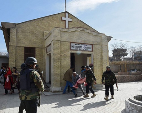 Twin suicide bombers attack church in Quetta ahead of Christmas, killing eight