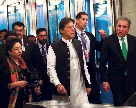 Anger, impatience mount in Pakistani Kashmir as Khan makes diplomatic push