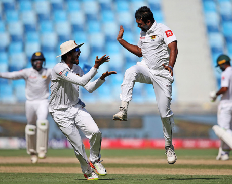Sri Lanka hands Pakistan first test series defeat in UAE