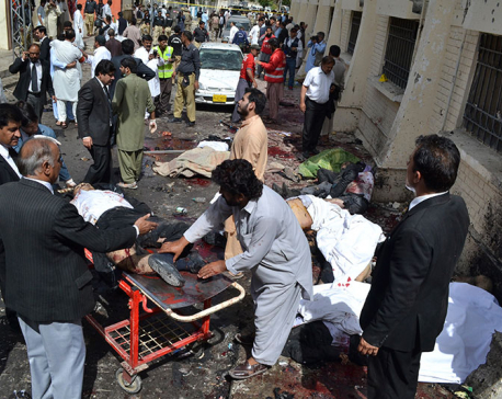 Death toll in Quetta suicide bombing reaches 63 (update)