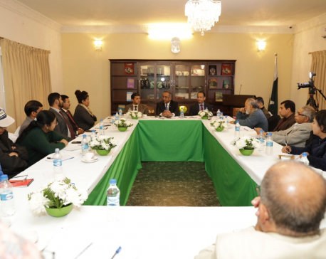 Pakistan Embassy hosts talk program on right to self-determination for people of Jammu Kashmir