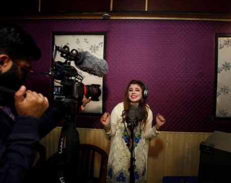 Home-grown streaming app helps Pakistan's musicians find voice