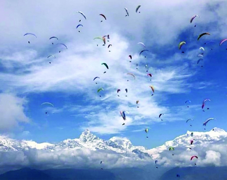 Pilot killed, passenger injured in paragliding tragedy in Pokhara