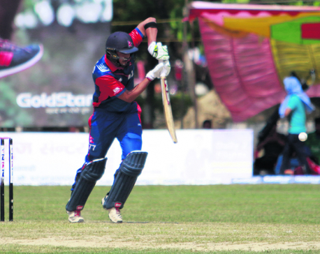 Paras leads Nepal XI to victory over Dhangadhi XI
