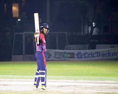 Records galore for Khadka as Nepal trounces Singapore by 9 wickets