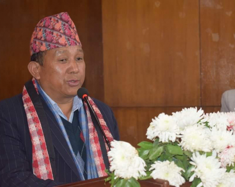 PM Oli cannot resign constitutionally: Minister Gurung