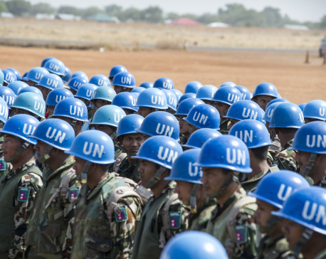 Nepal is now the third largest troops contributing country to UN Missions