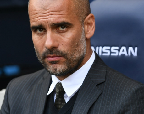 Guardiola blames missed chances, not referee for City draw