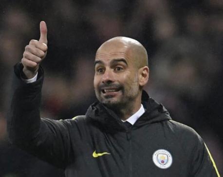 Kompany in contention for Everton clash, says Guardiola