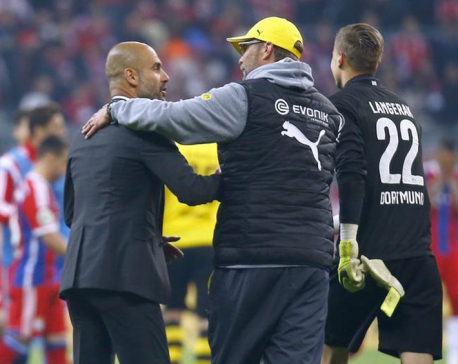 Guardiola lauds Klopp's 'heavy metal' football