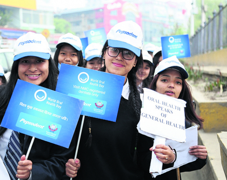 NDA organizes march to promote oral health