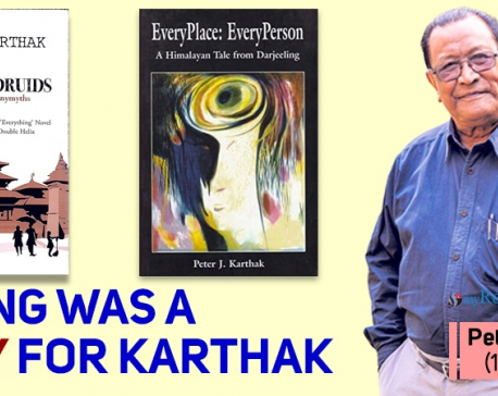 Peter J Karthak, author of Pratyek Thhaun: Pratyek Manchhe, passes away at 77