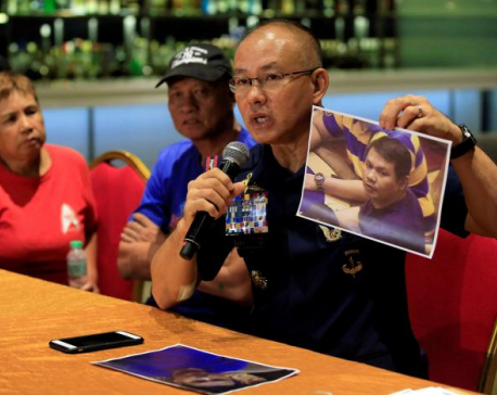 Indebted gambler behind Philippines casino attack - police