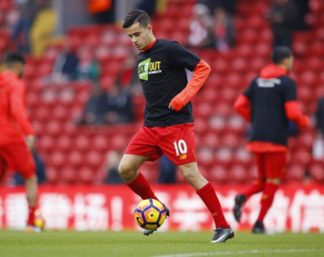 Midfielder Coutinho extends contract with Liverpool