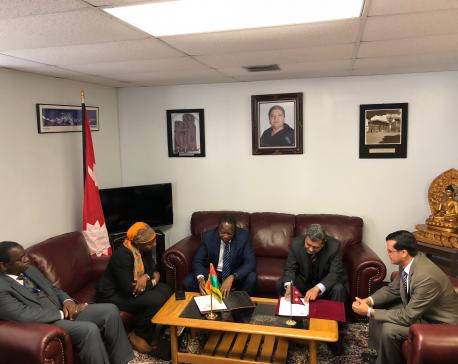 Nepal and Burkina Faso established formal bilateral diplomatic relations