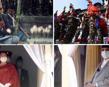 PHOTOS: Basant Panchami observed at Hanuman Dhoka in Kathmandu