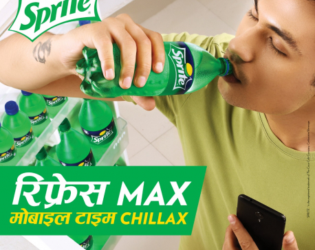 "Sprite launches ""Fresh Max, Mobile Time Chillax"" campaign"