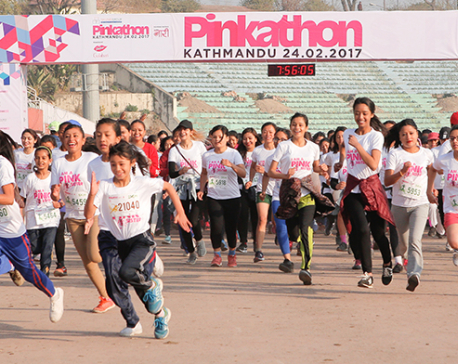 Kanchhi wins half marathon in record time