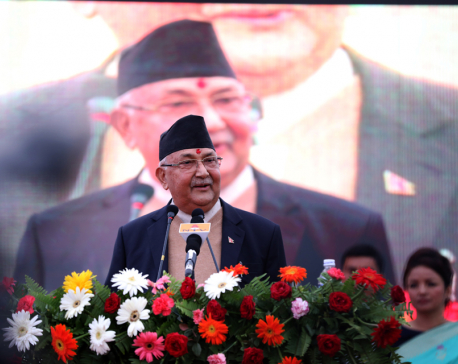 Govt to safeguard hard-won democracy at any cost, says PM Oli