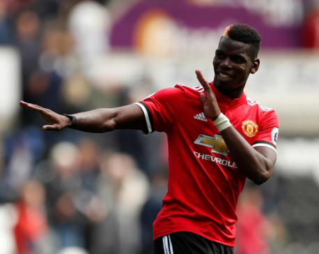 Martial tips Man United team mate Pogba to win Ballon d'Or soon